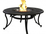 outdoorgreatroomblackglassfirepit