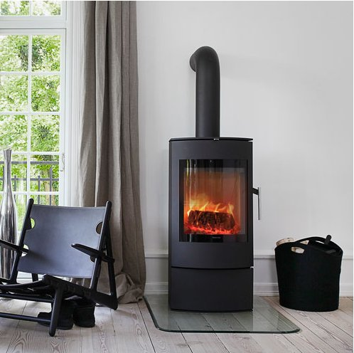 S50 Contemporary Free Standing Wood Stove Jpg