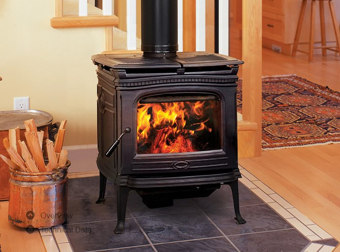 wood-castiron-stoves-alderlea-t4 - Pacific Energy Wood Stoves - American Home