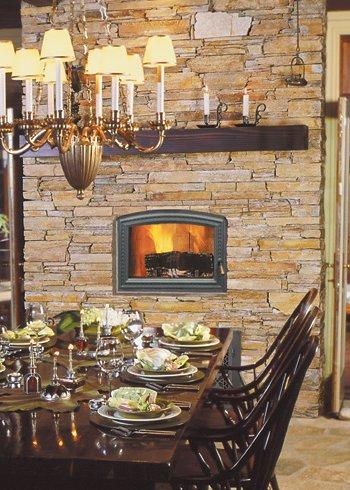 RSF Wood Fireplaces   La Crosse Wood Fireplaces   American Home ...