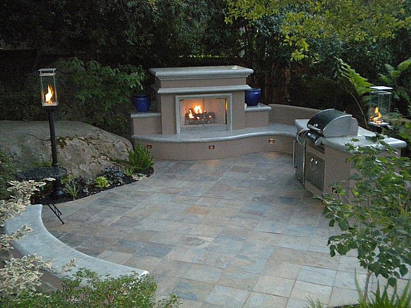 Tempest Torch Backyard Installation