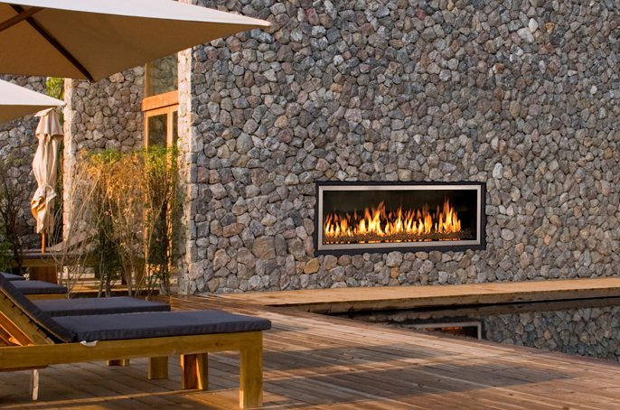 Gas Fireplaces Ws54 Outdoor